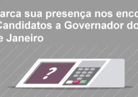 Simerj marca sua presença nos encontros com os Candidatos a Governador do Estado do Rio de Janeiro